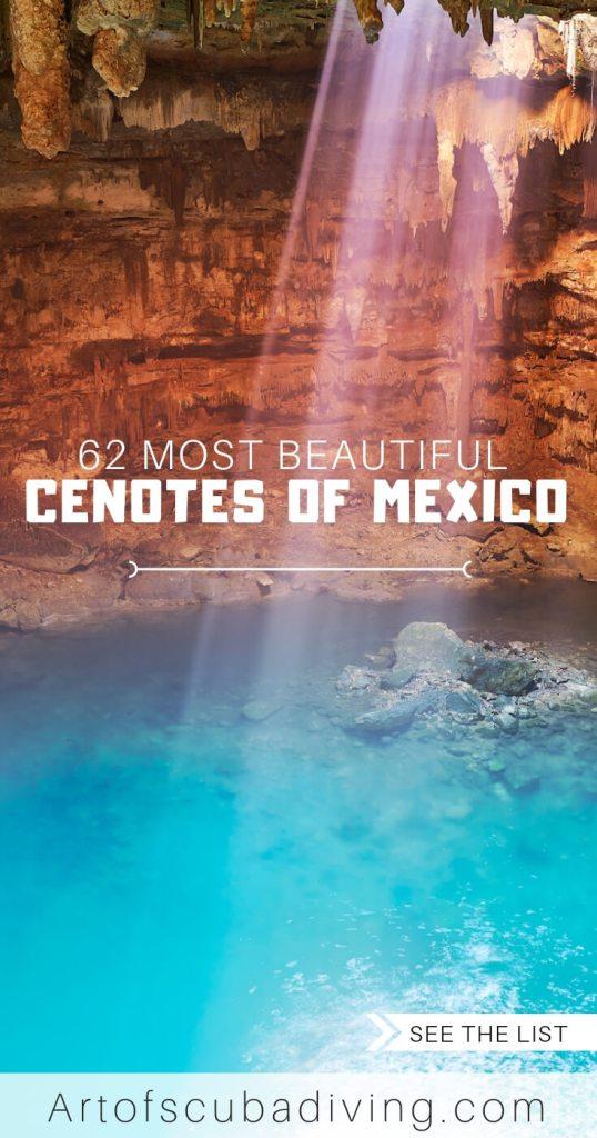 cenotes of mexico