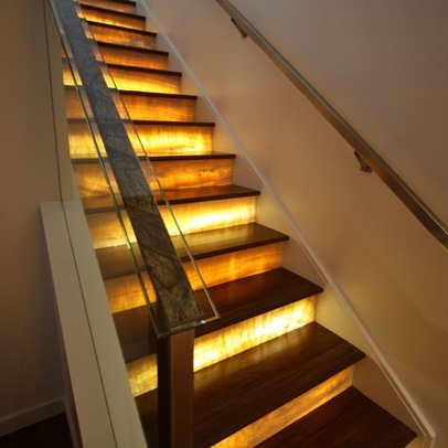 Creative Stairs With An Artsy Flair