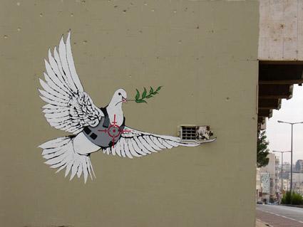 Banksy Dove