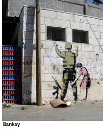 Banksy Soldier