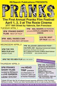 1st Annual Pranks Film Festival