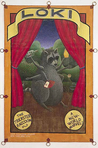 The Trickster Raccoon, by Norm Magnusson