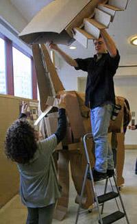 Tyler Art Students Wage War