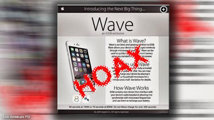 apple wave hoax