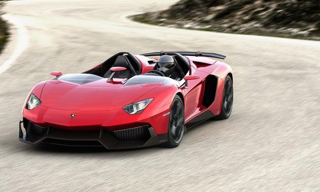 V12 Zagato Vs. Bentley SUV Vs. Infiniti Hatchback Vs. Mercedes-Benz A-class Vs. Ford Fiesta ST Vs. Lamborghini Aventador J  (4/4)