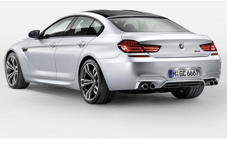 BMW M6 Gran Coupe set for Detroit  (4/4)
