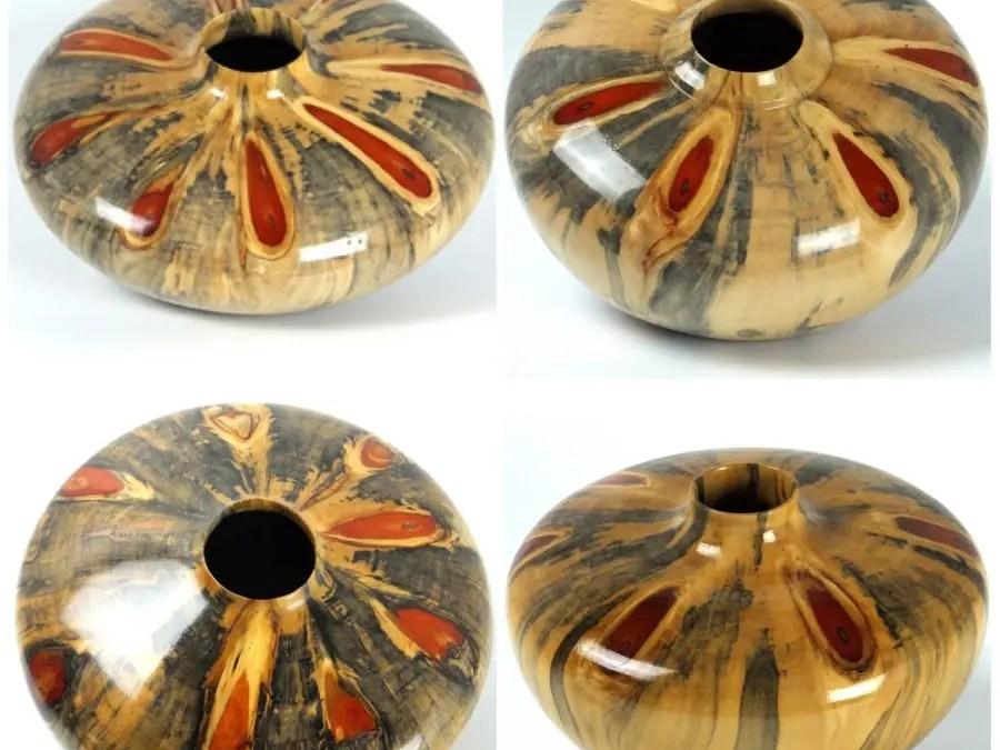 Wagon Wheel Hollow Form Series