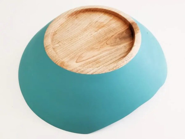 Handcrafted farmhouse decor wood bowl