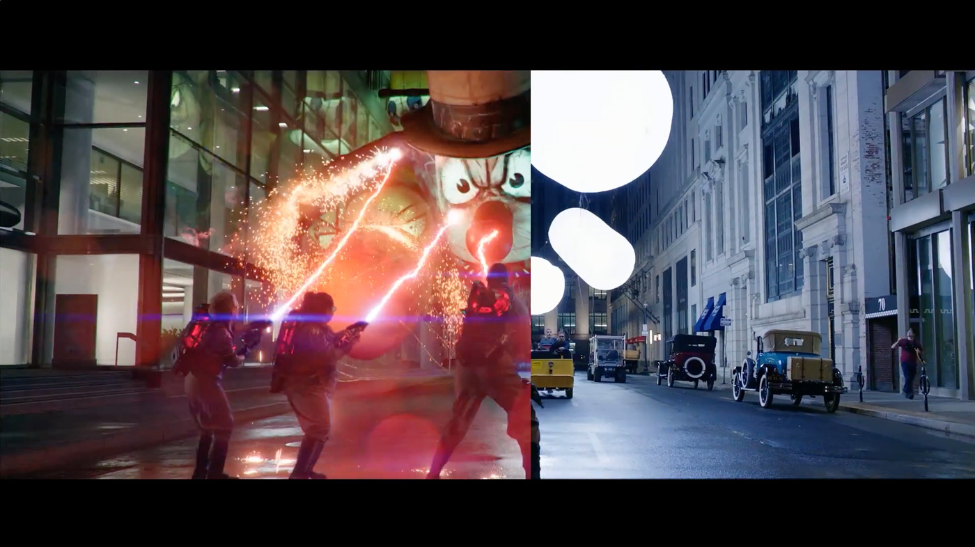 GHOSTBUSTERS Balloons Sequence By Sony Pictures