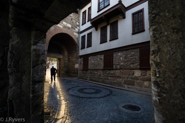 Ankara Castle Gate Turkey