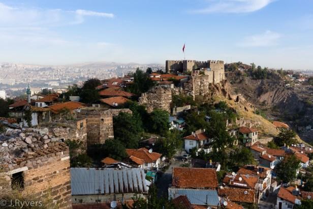 Ankara Castle Walls Citadel