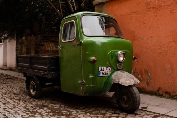 Istanbul Turkey car 3-wheele