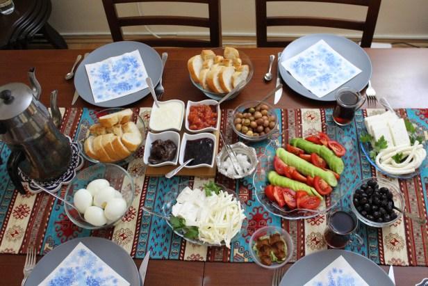 Kahvaltı Turkish Breakfast