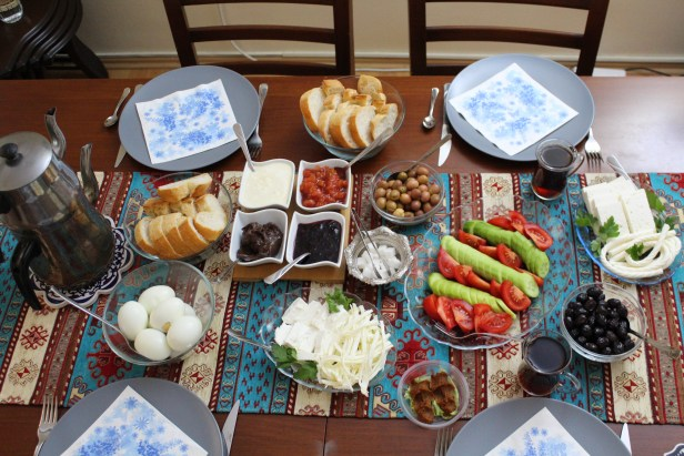 Kahvaltı Turkish Breakfast