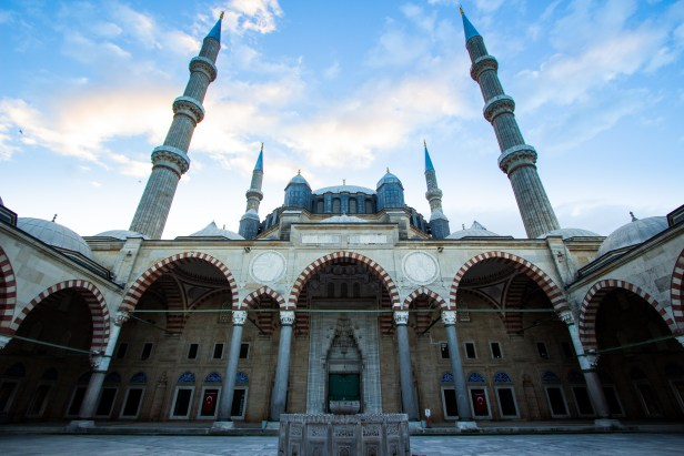 Edirne Selimiye Mosque Courtyard