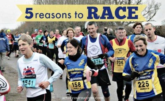 reasons to race, why race, run, tri, bike