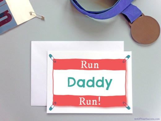 Run Daddy Run Card