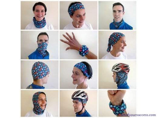 how to wear buff multifunctional headwear