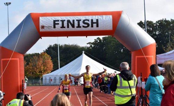 Finish Line Abingdon Marathon