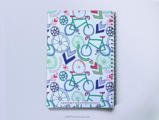 Cycling Spiral Notebook A5