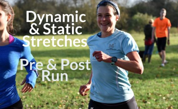 Dynamic and static stretches