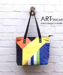 printed shopper bag lacrimosa artonomous
