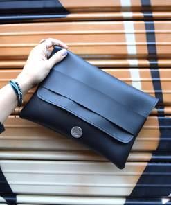 Black Clutch Bag Vasiliki Bellou Artonomous 1