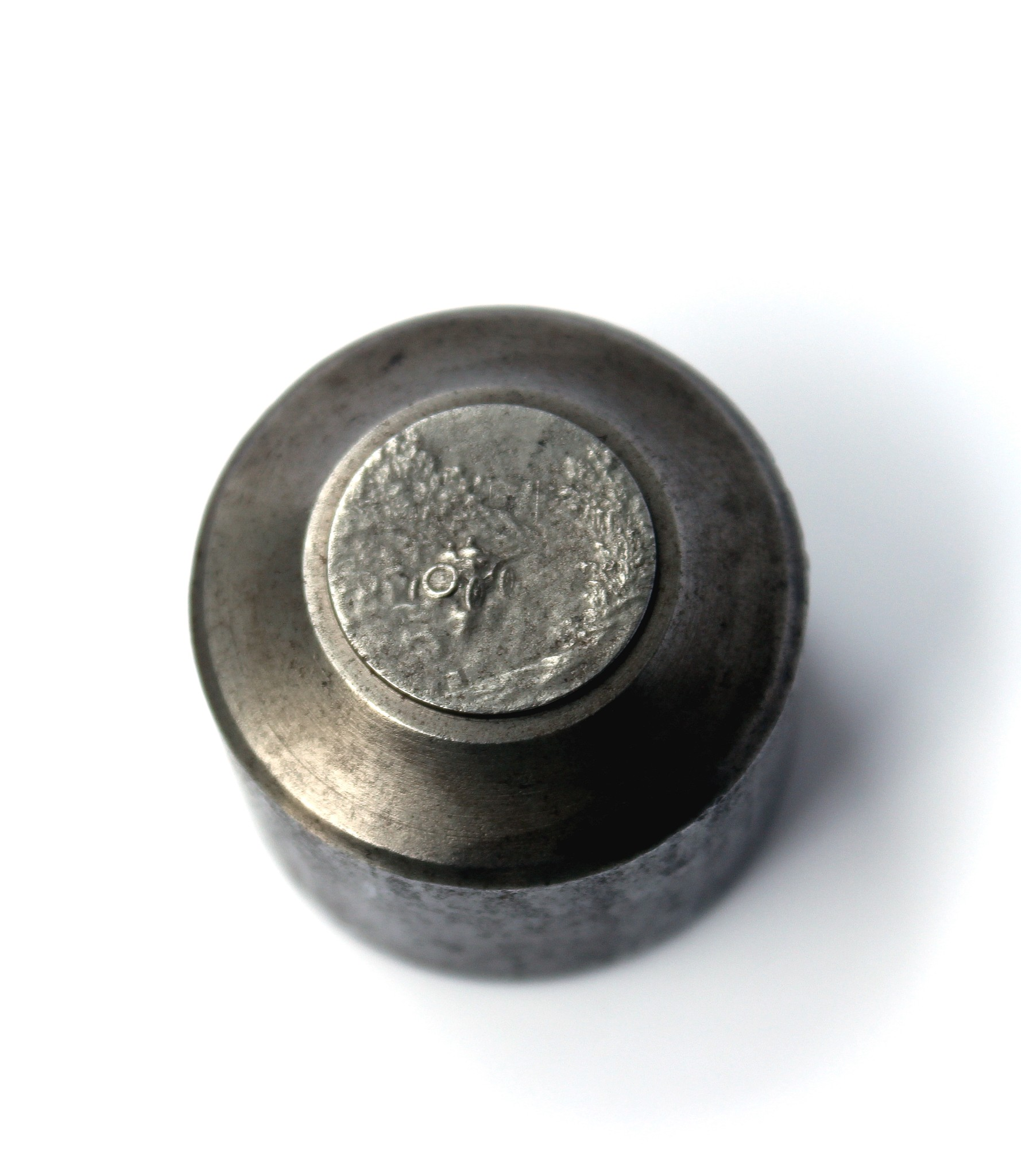 Early 20th century steel medal die from a motoring by Felix Rasumny for sale