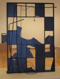bronze window frames downstairs gallery