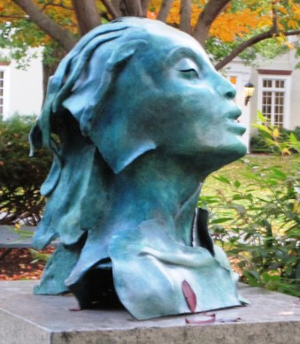 """""""Presence"""" bronze sculpture by Mary Frank"""