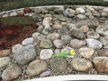 Each stone is different, representing the uniqueness of each individual, yet united they create their impact through the number of names inscribed.