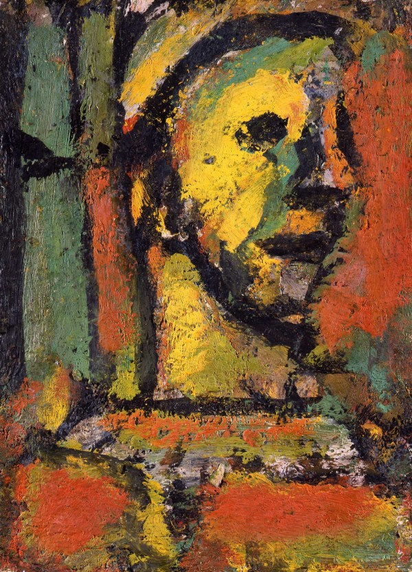 Rouault Clown Pensif Oil Art Wazoo