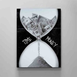 time-is-money-canvas-art-by-artoxic
