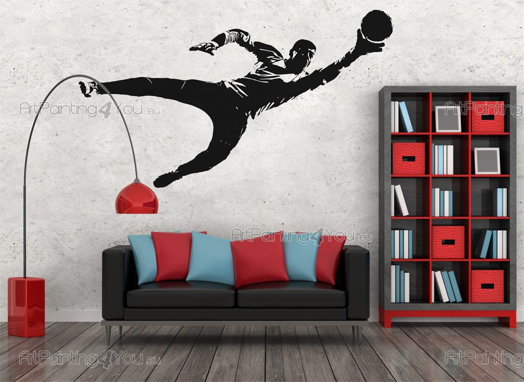 Wall Decals Football Goalkeeper  ArtPainting4Youeu