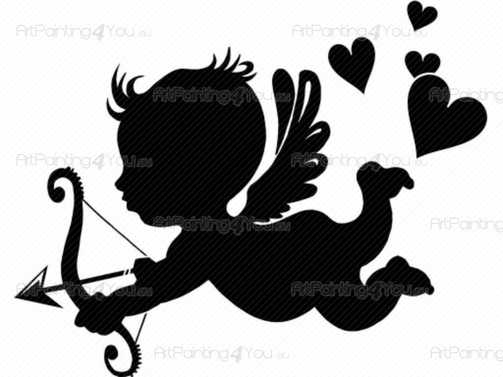 Stickers Murali Cupido  ArtPainting4Youeu  VDS1010it