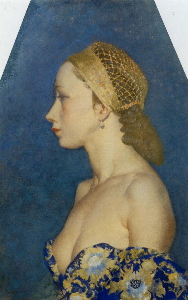 Costanza by Sir William Russell Flint