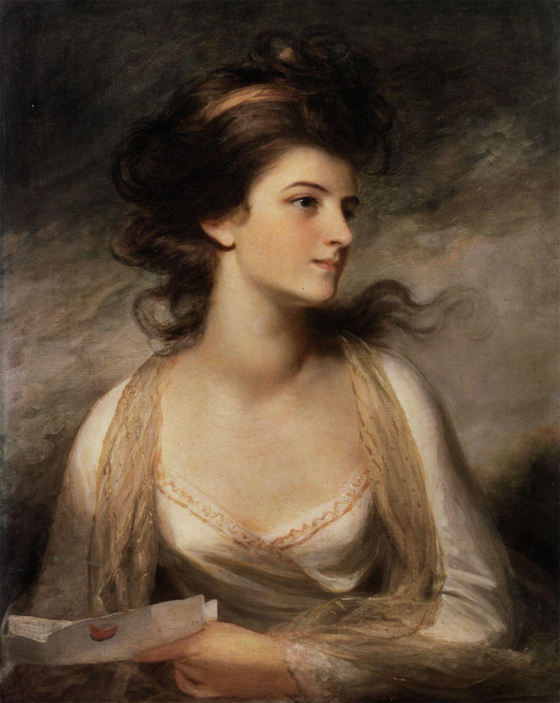 Portrait of a Lady by John Hoppner