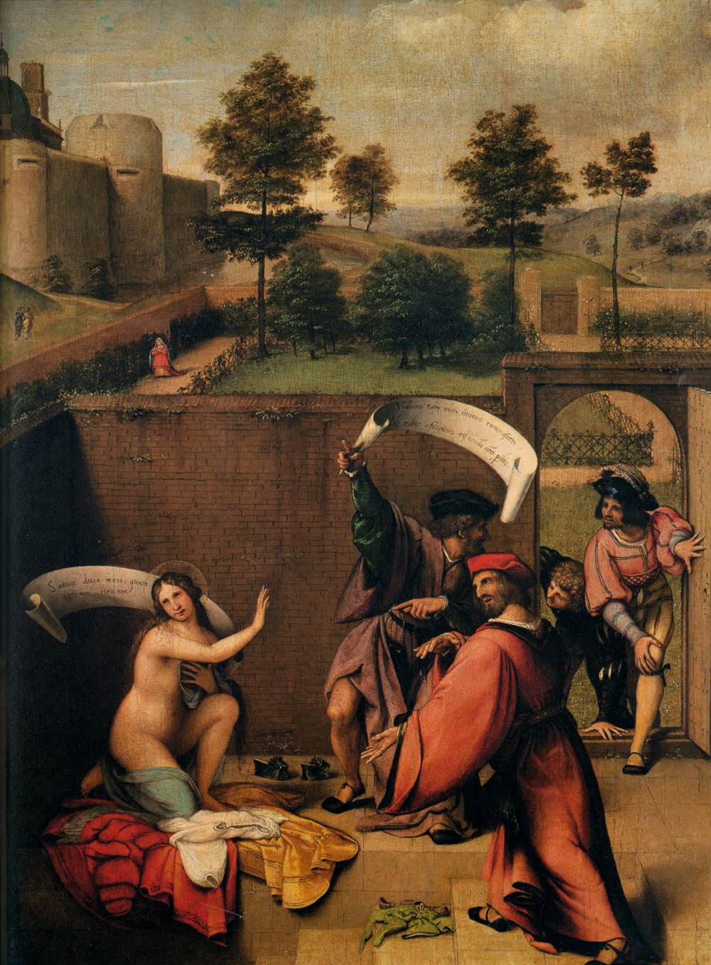 Susanna and the Elders by Lorenzo Lotto