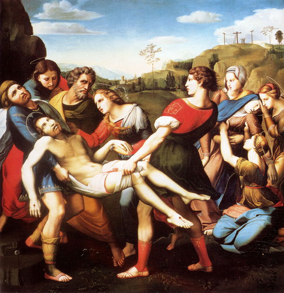 The Entombment by Sassoferrato-History Painting