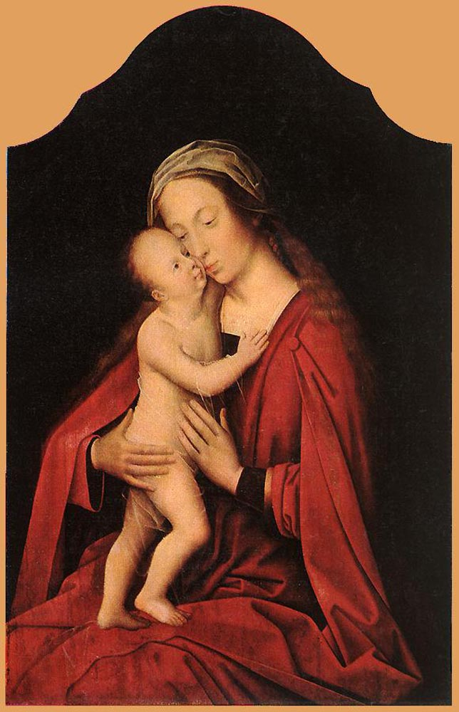 Virgin and Child by Adriaen Isenbrandt (Ysenbrandt)-Oil Painting