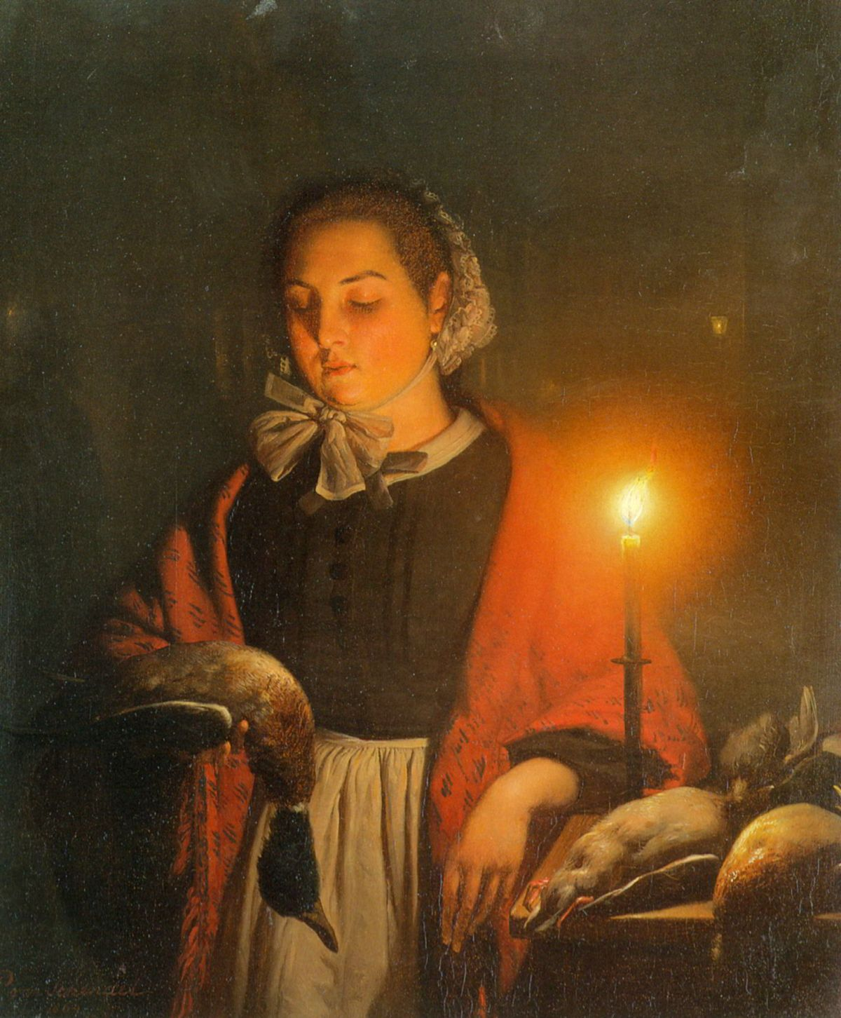 A Careful Eye by Petrus Van Schendel