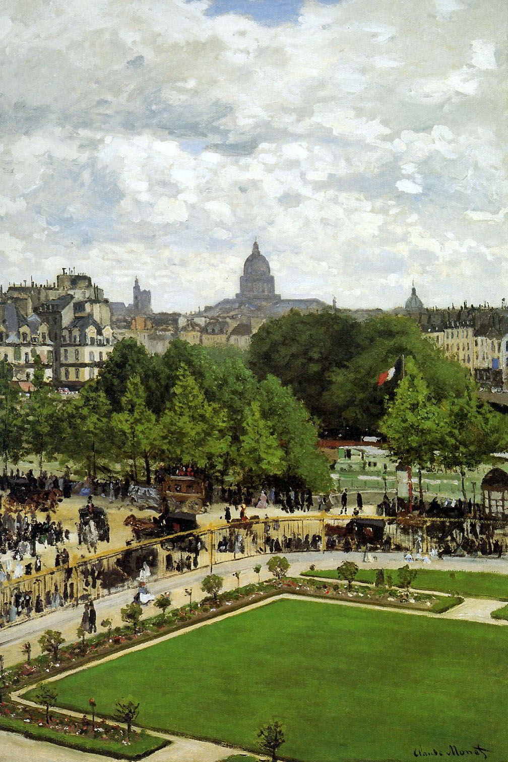 The Garden of the Princess by Claude Monet
