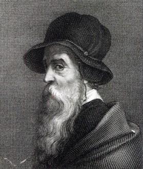 Benvenuto Cellini Self Portrait