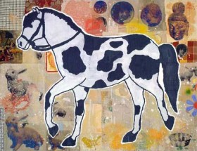 Horse by Donald Baechler