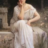 Meditation by Charles Amable Lenoir