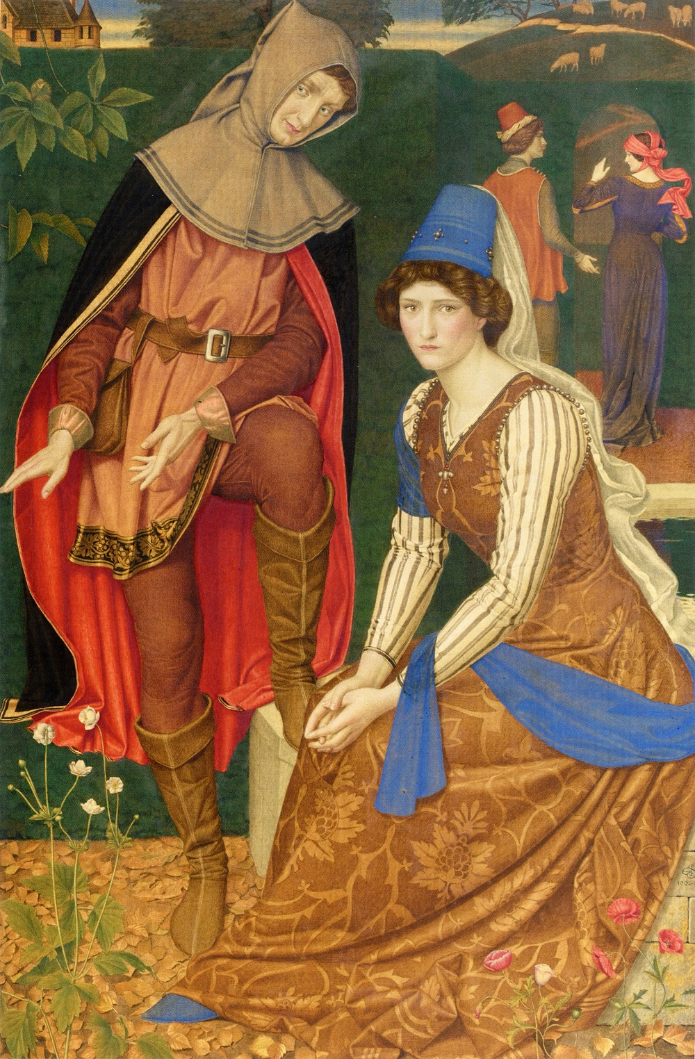 The Nut Brown Maid by Joseph Edward Southall
