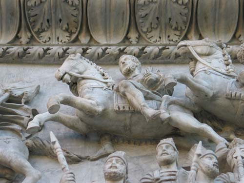 A High-relief Sculpture
