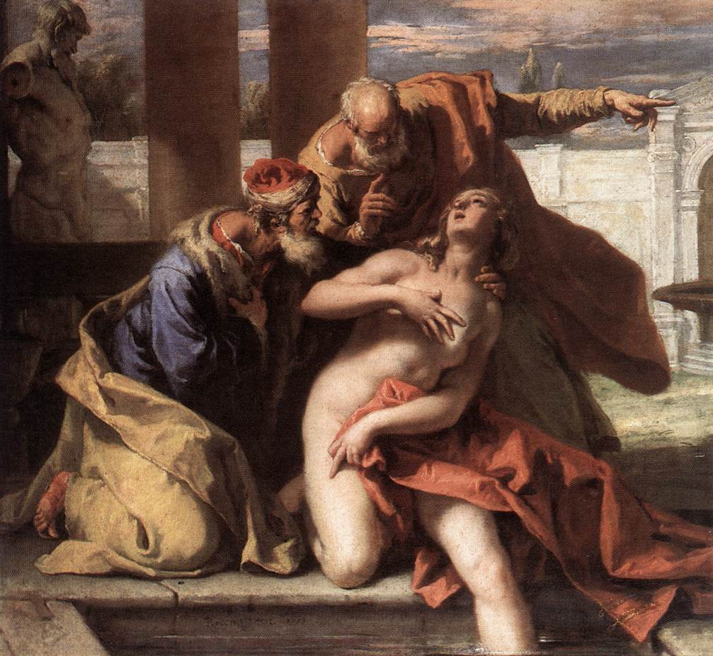 Susanna and the Elders by Sebastiano Ricci
