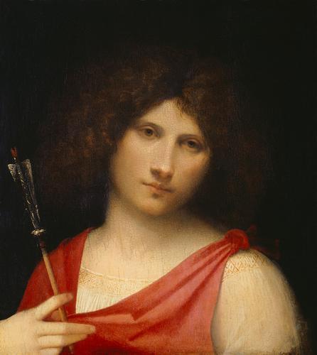 Boy with an Arrow by Giorgione