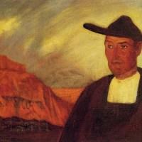 Hombre De Fuensaldana by Ramon De Zubiaurre